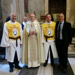 Passaggio della Porta Santa guidato da S.E. Mons. Paolo SELVADAGI, Vescovo titolare di Salpi, Ausiliare per il settore Ovest di Roma