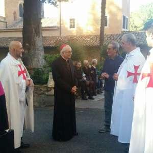 Templari Cattolici partecipano alla meditazione condotta da S. EM. Card. Mauro Piacenza