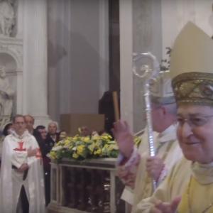 Chiusura Porta Santa di Aversa con Mons. Angelo Spinillo
